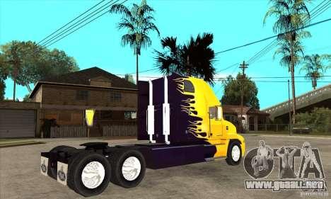 Mack para GTA San Andreas vista hacia atrás