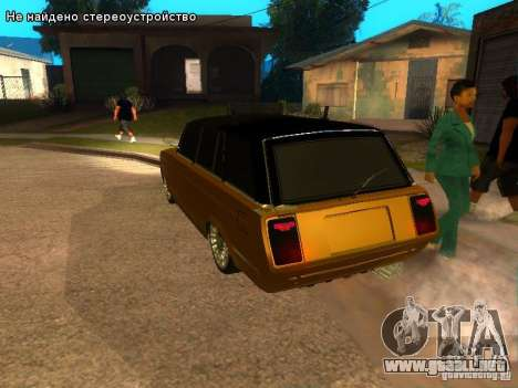 VAZ 2104 tuning para GTA San Andreas left
