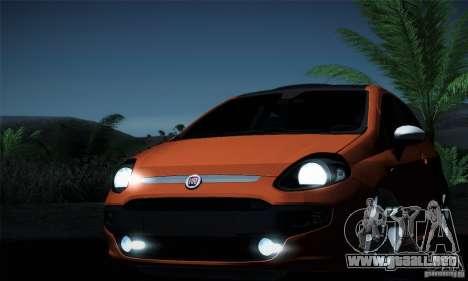 Fiat Punto Evo 2010 Edit para vista inferior GTA San Andreas