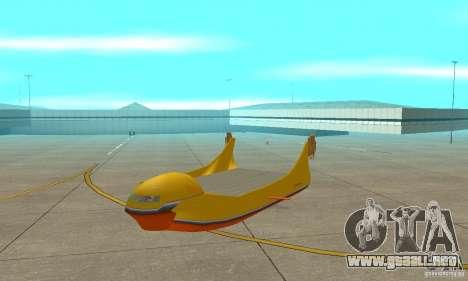 Plataforma aérea Air Carrier para GTA San Andreas left