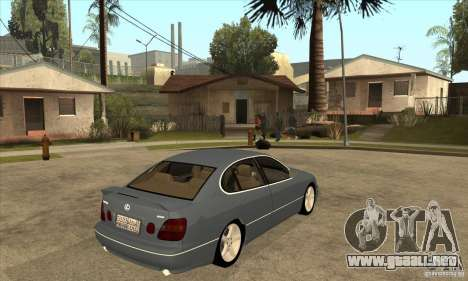 Lexus GS300 2003 para la visión correcta GTA San Andreas