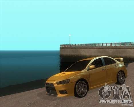 ENB from GTA VI come Back para GTA San Andreas