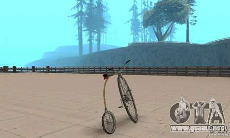 Penny-Farthing Ordinary Bicycle para GTA San Andreas left