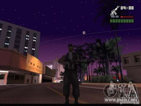 Cielo estrellado v2.0 (para SA: MP) para GTA San Andreas tercera pantalla