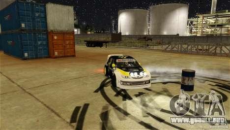 Subaru Impreza WRX STI Rallycross Monster Energy para GTA 4 vista desde abajo