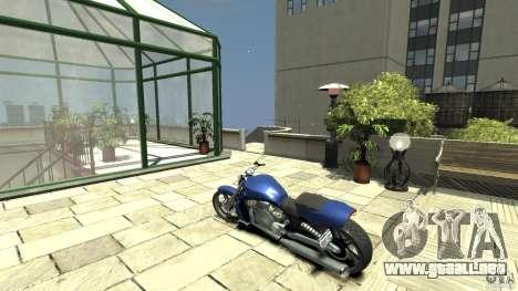 Harley Davidson VRSCF V-Rod para GTA 4 Vista posterior izquierda
