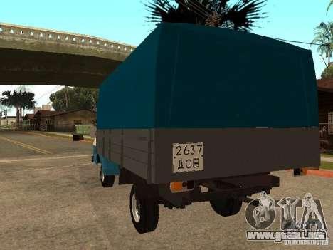 RAPH 33111 para GTA San Andreas vista posterior izquierda