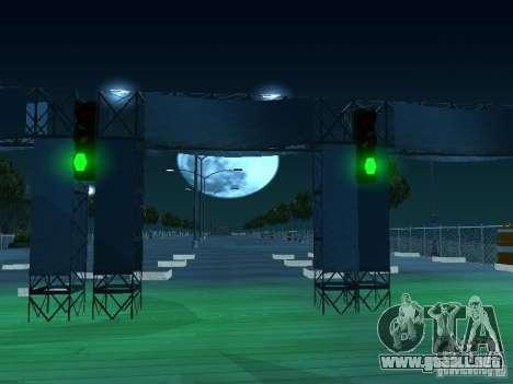 Arrastre ruta v 2.0 Final para GTA San Andreas tercera pantalla