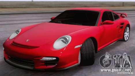 Porsche 911 GT2 para GTA San Andreas vista posterior izquierda