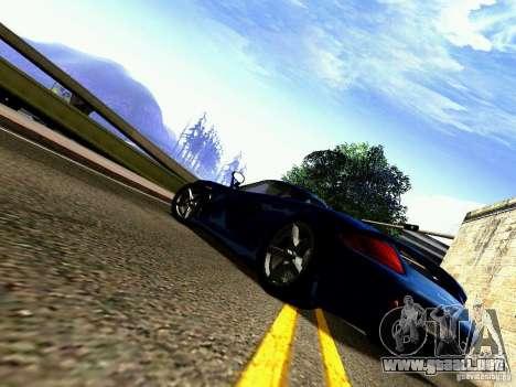 Porsche Carrera GT para visión interna GTA San Andreas