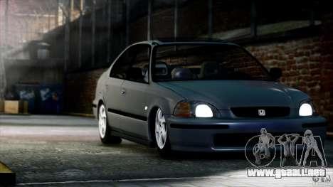 Honda Civic Vti para GTA 4 visión correcta