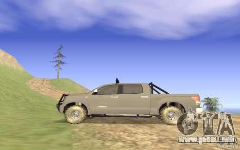 Toyota Tundra 4x4 para GTA San Andreas left