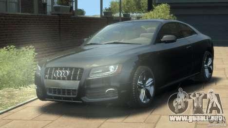 Audi S5 1.1 para GTA 4
