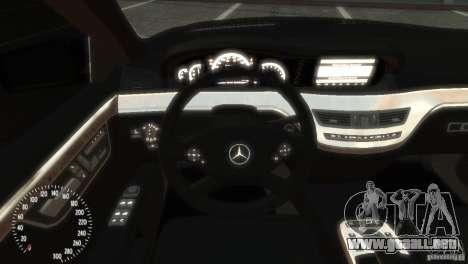 Mercedes-Benz S350 VIP para GTA 4 visión correcta