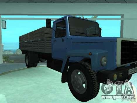 Gaz-3309 Elongatus para GTA San Andreas left