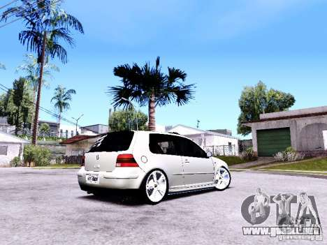 Volkswagen Golf MK4 para GTA San Andreas left