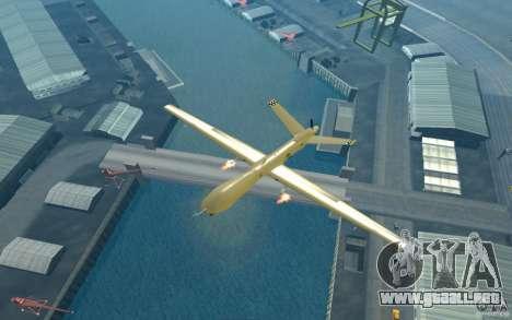 RQ9 Predator para la visión correcta GTA San Andreas