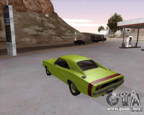 Dodge Charger RT 440 1968 para GTA San Andreas left