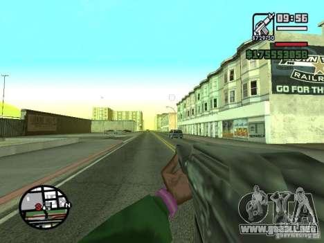 Primera persona (First-Person mod) para GTA San Andreas séptima pantalla