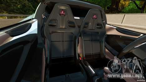 Lotus Exige S 2012 para GTA 4 vista interior