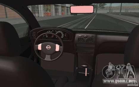 Nissan Almera Classic para vista lateral GTA San Andreas
