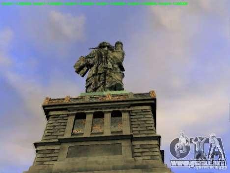 Estatua de la libertad de 2013 para GTA San Andreas séptima pantalla