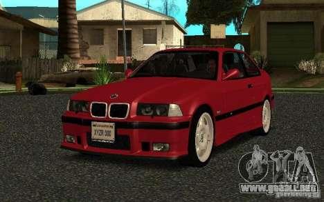 BMW E36 M3 1997 Coupe Forza para GTA San Andreas