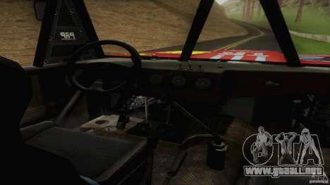Buggy Off Road 4X4 para la visión correcta GTA San Andreas