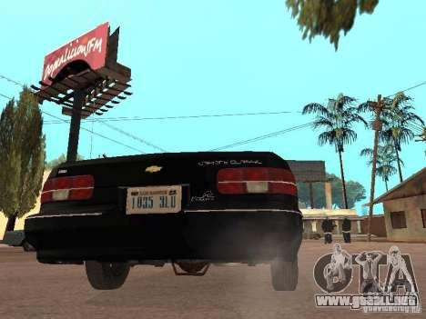 Chevrolet Caprice 1991 LSPD para la visión correcta GTA San Andreas