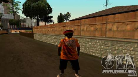 Jamaican Guy para GTA San Andreas