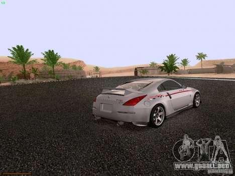 Nissan 350Z Nismo S-Tune para la visión correcta GTA San Andreas