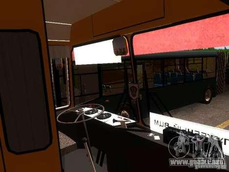 LAZ-4202 para la vista superior GTA San Andreas