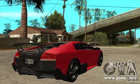 Lamborghini Gallardo LP570-4 SV para la visión correcta GTA San Andreas