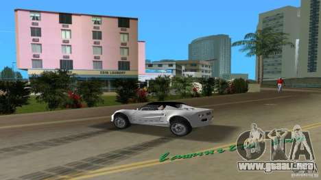 Lotus Elise para GTA Vice City vista lateral izquierdo