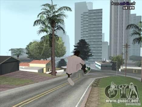 Piel nueva Suite para GTA San Andreas tercera pantalla