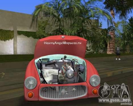 FSO Syrena para GTA Vice City visión correcta