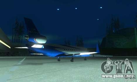 Blue Ghawar para GTA San Andreas left
