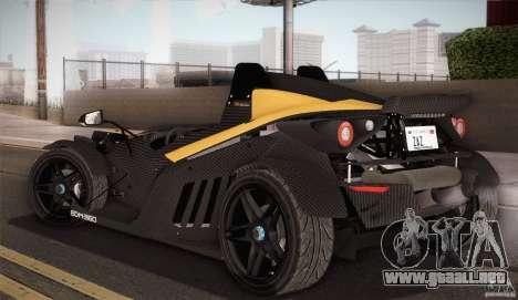 KTM-X-Bow para vista inferior GTA San Andreas