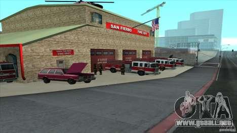 El fuego animado en el SF v3.0 Final para GTA San Andreas