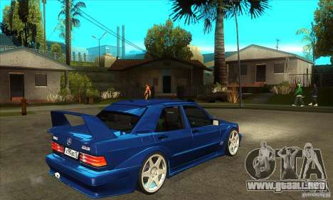 Mercedes-Benz w201 190 2.5-16 Evolution II para la visión correcta GTA San Andreas