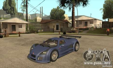 Gumpert Apollo Sport para GTA San Andreas