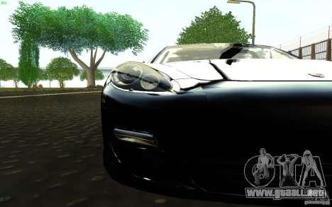 Porsche Panamera Turbo para la visión correcta GTA San Andreas