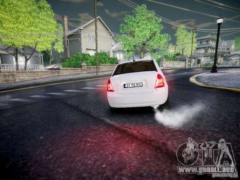Hyundai Accent Era para GTA 4 vista hacia atrás