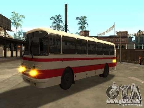 LAZ 699R 98021 para la visión correcta GTA San Andreas
