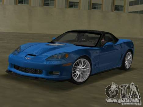 Chevrolet Corvette ZR1 para GTA Vice City