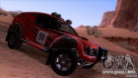 Range Rover Bowler Nemesis para la visión correcta GTA San Andreas
