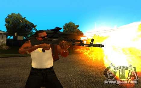 Metro Last Light AK 47 para GTA San Andreas