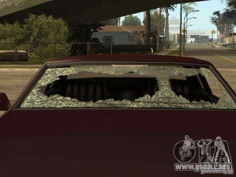 Daños realista para GTA San Andreas sexta pantalla