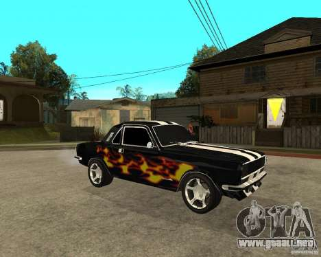 GAZ 2410 Camaro edición para la visión correcta GTA San Andreas