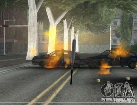 Pak domésticos armas versión 6 para GTA San Andreas tercera pantalla